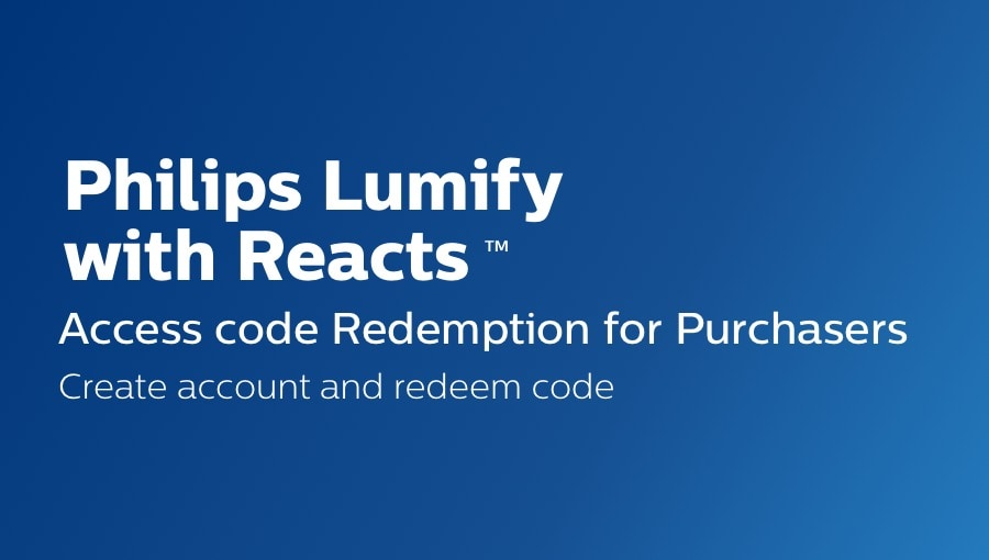 create account and redeem code